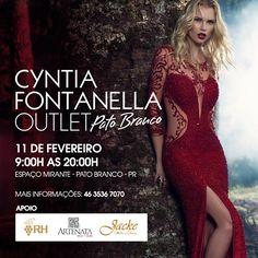 Outlet Cyntia Fontanella em Pato Branco!    por Josiana Rezzardi   Uma luz no fim do closet       - http://modatrade.com.br/outlet-cyntia-fontanella-em-pato-branco