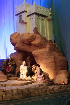Ube, Diorama, Nativity, Diy And Crafts, Interior, Christmas, Christmas Manger, Crafts For Kids, Cool Inventions