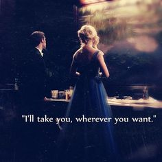 The Vampire Diaries- I don't know if this is Klaus and Caroline but if it is then YES!!