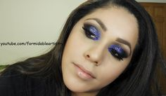 Inspired by a blue disco ball..
