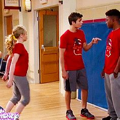 when maya jumps on his back lucus's face is amazing its all surprised then like billy she is not going to stop me .