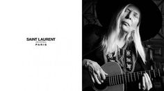 Joni Mitchell Is Saint Laurent's New Campaign Star - Pret-a-Reporter