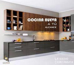 #AmueblandoTuVida Kitchen Cabinets, Decor, Kitchen, Home, Cabinet, Home Decor