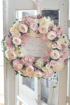 Funeral Flower Arrangements, Funeral Flowers, Floral Arrangements, Pink Wreath, White Wreath, Floral Wreath, Wedding Door Wreaths, Wedding Doors, Shabby Chic Xmas