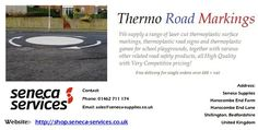 Preformed thermoplastic road markings are easy-to-use and can be installed all year round. Our huge collection of certified markings is suitable for creating road lines, traffic signs, traffic symbols, arrows, letters and numbers.