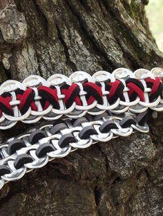 Suede Pop Tab Bracelet