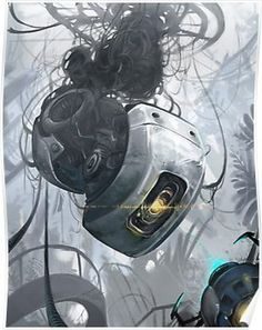 glados favourites by Journey-Fox on DeviantArt Portal 2, Cyberpunk, Framed Prints, Canvas Prints, Art Prints, Portal Wheatley, Aperture Science, You Monster, Game Art