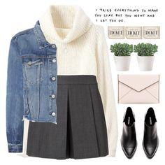 """""""Untitled #1328"""" by chantellehofland on Polyvore featuring Alexander Wang, GRLFRND, Rebecca Minkoff, WALL and Botkier"""
