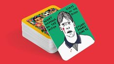 Designers celebrate iconic football moments on Weird Euros beer mats. Uefa European Championship, Championship Football, Paul The Octopus, Summer School Programs, Dry Sense Of Humor, Penalty Kick, Material Research, England Players, Beer Mats
