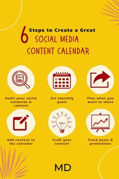 Creating a #socialmedia #contentcalendar is the foundation of your social media strategy. We promise it will keep you organized and never without content. Visit ModernDigital.co/resources to download your free copy of our #contentcalendartemplate.