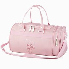 Roch Valley Pointe Hold-all Dance Bag Pink main image. Bags For Teens, Girls Bags, Barbie Chelsea Doll, Cute Suitcases, Little Girl Closet, Cute Mini Backpacks, Cute Luggage, Tutu, Suitcase Bag