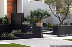 A contemporary coastal landscape design from Tim Davies Landscaping. A contemporary coastal landscape design from Tim Davies Landscaping.