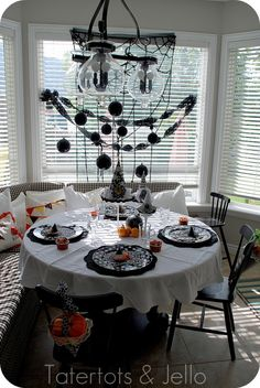 Good Witch Halloween tea party for little girls