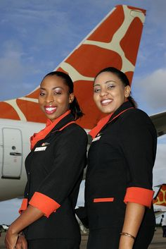 Airlines hostess - Zambezi Airlines