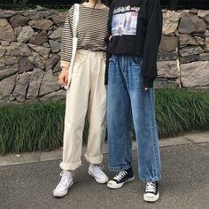 Love these korean fashion outfits K Fashion, Asian Fashion, Fashion Outfits, Modern Hijab Fashion, British Fashion, Bohemian Fashion, Fashion Weeks, Petite Fashion, Fashion Trends