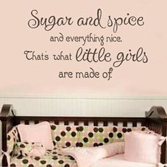 girls quotes Little Girl Quotes, Baby Girl Quotes, Mommy Quotes, Cute Quotes, Baby Sayings, Spice Girls Quotes, Daddy Come Home, Mother Daughter Quotes, Kids Room Wall Decals