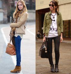 Inspiração de looks para usar com bota de cano curto