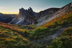 alp impressions IV by Lukas Furlan, via Behance; dolomines; alps;