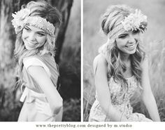 DIY Flower headbands by m.studio - The Pretty Blog