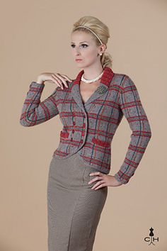Chatsworth by Amy Gunderson - knit fitted jacket
