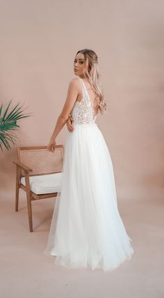Miss Scarlett Label is a collection of all-white debutante gowns that boasts intricate laces, delicate fabrics and beautiful contemporary designs. Deb Dresses, Formal Dresses, Wedding Dresses, All White, Serendipity, Contemporary Design, White Dress, Gowns, Princess
