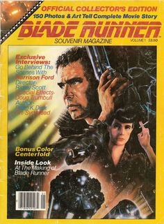 blade runner official movie poster magazine - Google Search
