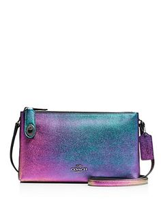 dcee5bc03b3a COACH Crosby Iridescent Leather Crossbody Bag Leather Crossbody Bag,  Iridescent, Holiday Gifts, Timeless