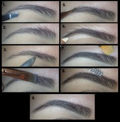 How To Get Perfect Brows Tutorial
