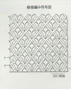 Virkad Fjärilssjal / Butterfly Shawl pattern by Made By Chippzan Crochet Motifs, Crochet Stitches Patterns, Knitting Stitches, Crochet Doilies, Crochet Lace, Free Crochet, Stitch Patterns, Granny Square Häkelanleitung, Granny Square Crochet Pattern