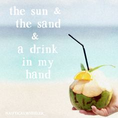 sun and sand quote