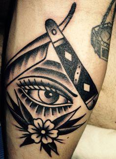 Tattoo old school black