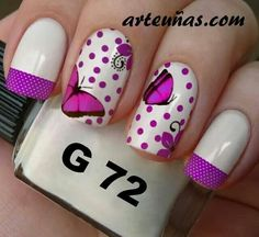 Lovely Pretty Nails, Manicure, Hair Beauty, Make Up, Nail Art, Color, Kitchen, Nail Design, Designed Nails