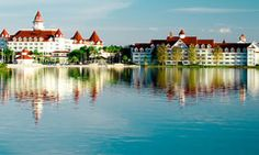Disney's Grand Floridian Resort & Spa (we got engaged in the rose garden here one night eleven years ago, looking over the lake to see Cinderella's Castle. Can't wait to go back :)