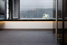 2tec2 woven vinyl flooring. Collection Iron rolls