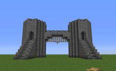 Minecraft DIY Crafts & Party Ideas 42 - Minecraft World Château Minecraft, Minecraft Castle Walls, Minecraft Castle Blueprints, Minecraft Kingdom, Minecraft Construction, Amazing Minecraft, Minecraft Tutorial, Minecraft Crafts, Minecraft Designs