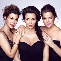 Kardashian sisters #PinToWinKardashianGlow