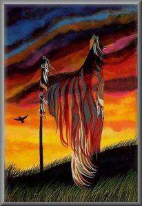 Native American Artists Paintings | La santé par le pouvoir des plantes - Léa Morgat, aromathérapeute ...