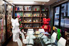 Medicom Toy headquarters. 2000% Bearbricks