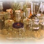 DIY All Glass Airlock Fermentation Jars