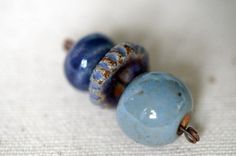 Handmade Ceramic Beads  Bead Soup Beads by BeadSoupBeads on Etsy, $9.00