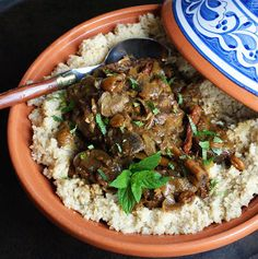 2 Stews: Moroccan Lamb Tagine With Pomegranate and Cherries
