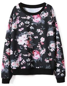 You can have this quicker than expected-Only one week! This floral print round collar sweatshirt is just made for you. Take it at Cupshe.com .