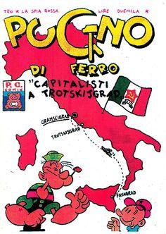 Pugno di ferro - capitalisti a Trotskijgrad è una co-produzione Centro Sociale Experia, Catania Porco Copyright Comix Catania, Bart Simpson, Comic Books, Comics, Fictional Characters, Comic Strips, Comic Book, Comic Book, Comic