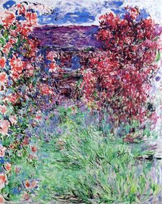 The House among the Roses - Claude Monet