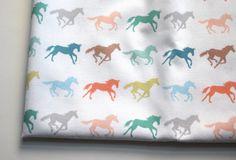 gallop  horse fabric  original fabric  fat by KatherineCodega, $10.00