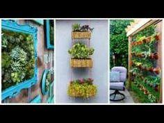 DIY : un jardin aromatique vertical pour la cuisine - YouTube