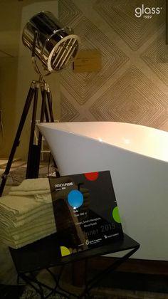 Sofa by Glass1989 wins 2015 DesignPlusAward at ISH2015. Design MeneghelloPaolelli