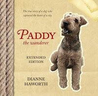 Paddy the Wanderer by Diane Haworth 2008  A well researched and endearing non-fiction account of an amazing Airedale who captured public imagination throughout New Zealand during the Great Depression, and who is today honoured in Wellington by a statue celebrating his status as a much-loved local legend.