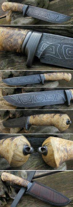 Nová stránka 1 (I love these blades! Cool Knives, Knives And Tools, Knives And Swords, Katana, Damascus Knife, Damascus Steel, Damascus Blade, Bushcraft, Survival