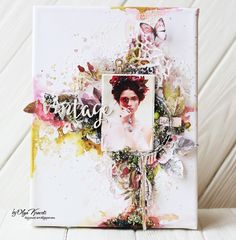 "Olya Kravets: Canvas ""Enchanted vintage"""